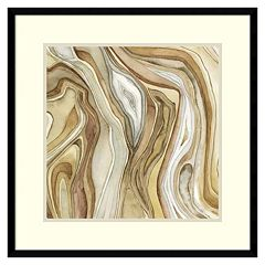 Amanti Art Watercolor Agate II Framed Wall Art
