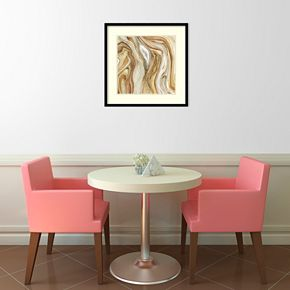 Amanti Art Watercolor Agate II Framed Wall Art