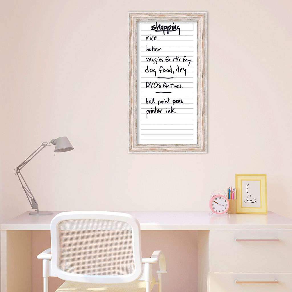 Amanti Art Alexandria Dry Erase List Wall Decor
