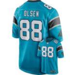 Men's Nike Carolina Panthers Greg Olsen Game NFL Replica Jersey