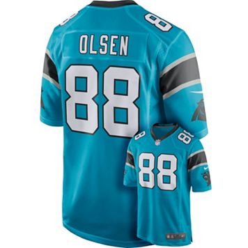 Men's Nike Carolina Panthers Greg Olsen Game NFL Replica Jersey