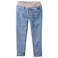 Girls 4-8 Carter's Pull-On Jeggings