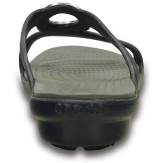 Crocs Sanrah Women's Beveled Circle Sandals