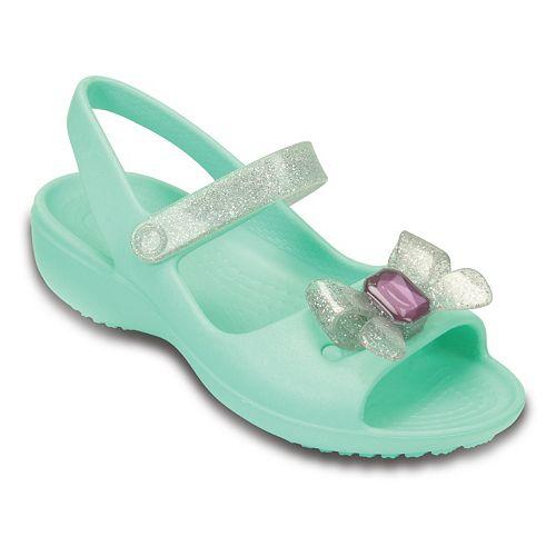 05522f9a29749 Crocs Keeley Springtime Kids  Mini Wedge Sandals