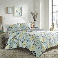 City Scene Stardust Quilt Set