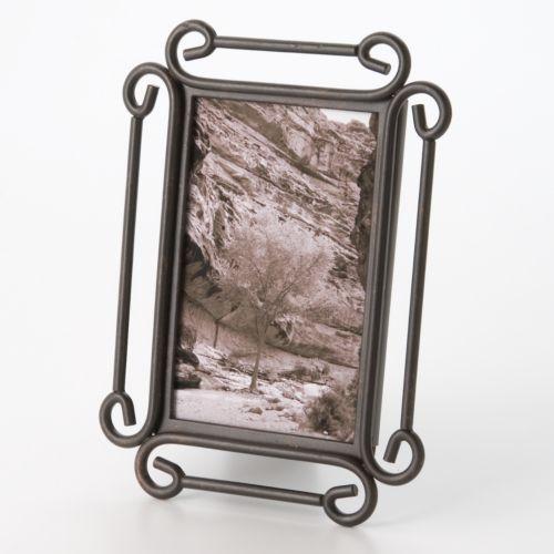 Fetco Alton Corner 4'' x 6'' Scroll Frame