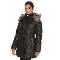 Women's Apt. 9® Hooded Quilted Puffer Jacket