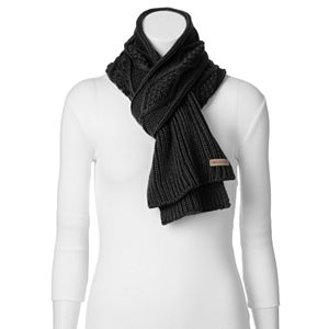 Columbia Cable-Knit Oblong Scarf