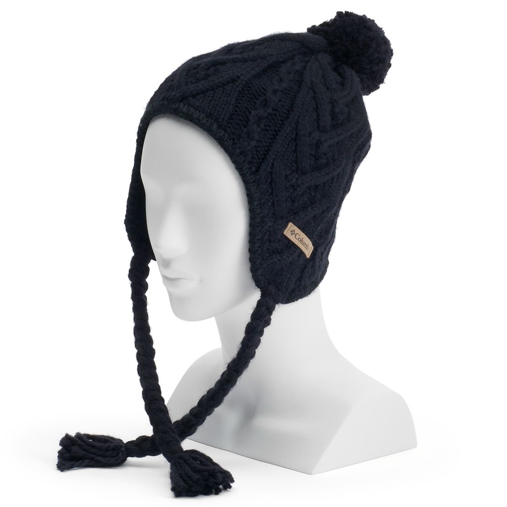 Women's Columbia Cable-Knit Pom Pom Hat