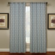 Spencer Home Decor 1-Panel Teardrop Window Curtain