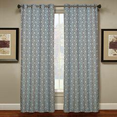 Spencer Home Decor 1 Panel Teardrop Window Curtain