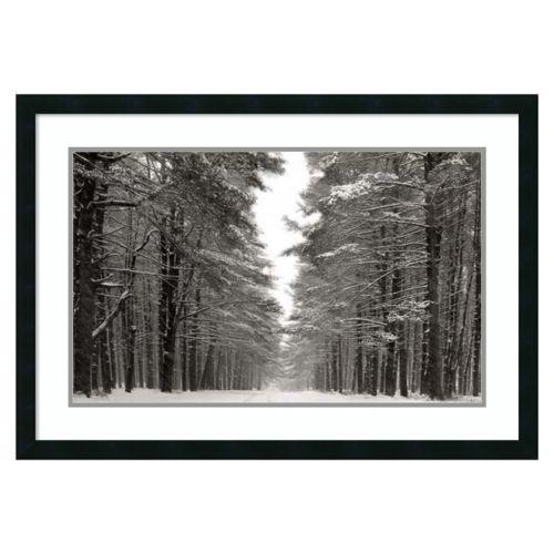 Amanti Art A Snowy Walk IV Fra...