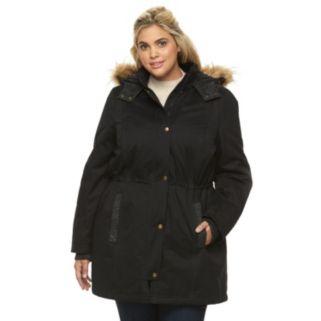 Plus Size Apt. 9® Hooded Anorak Parka