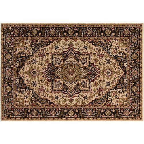 Decor 140 sai classic framed floral rug for Decor 140 rugs