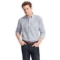 Big & Tall IZOD Striped Casual Button-Down Shirt