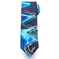 Men's Jerry Garcia Patterned Lines Tie