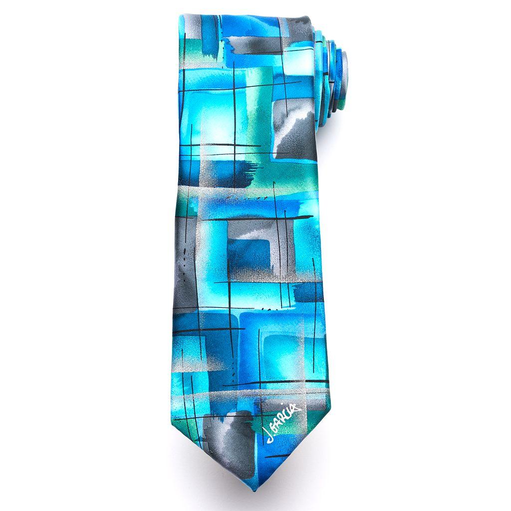 Jerry Garcia Aztec Objects Tie - Men