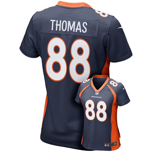 super popular 33e6c bf03b Women's Nike Denver Broncos Demaryius Thomas Game NFL ...