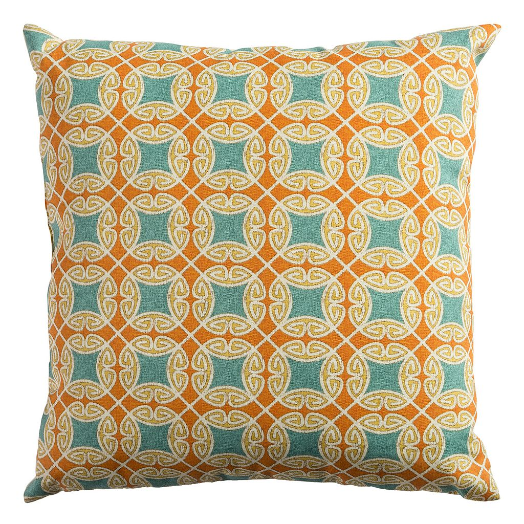 Rizzy Home Calming Geo Throw Pillow