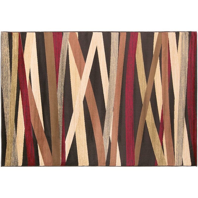 Decor 140 Sirene Modern Rug, Black, 5X7.5 Ft