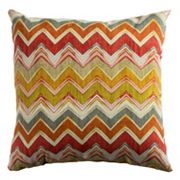 Rizzy Home Chevron Indoor / Outdoor Throw Pillow