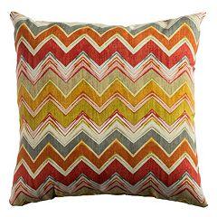 Rizzy Home Chevron Indoor / Outdoor Throw Pillow