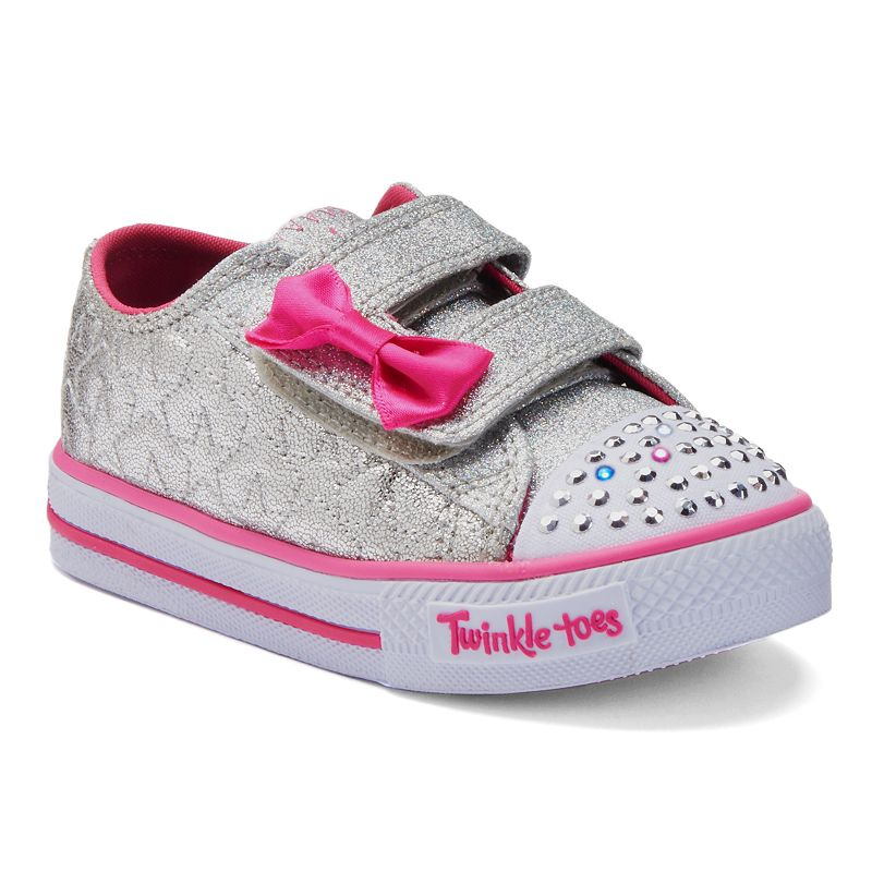 skechers twinkle toes shuffles starlight style toddler. Black Bedroom Furniture Sets. Home Design Ideas