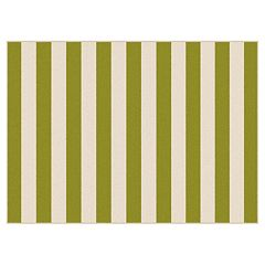 KHL Rugs Garden City Florence Striped Indoor Outdoor Rug