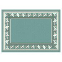 KHL Rugs Garden City Gaia Framed Geometric Indoor Outdoor Rug
