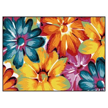 KHL Rugs Symphony Zinnia Floral Rug