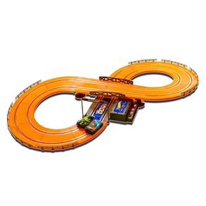 Hot Wheels Battery Operated 9.3-ft. Slot Race Track