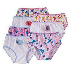 Disney / Pixar Finding Dory Girls 4-8 7 pkBikini Panties