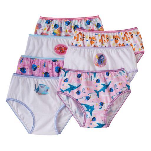 Disney / Pixar Finding Dory Girls 4-8 7-pk. Bikini Panties