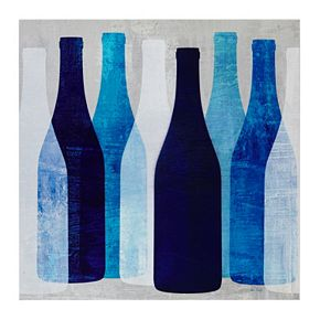 Ink + Ivy Pop Bottles Wall Art