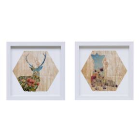 Intelligent Design Lost In The Woods Framed Wall Art 2-piece Set