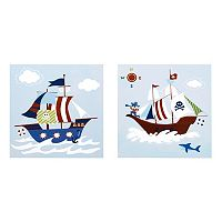 Mi Zone Kids Pirates Argh Wall Art 2 pc Set