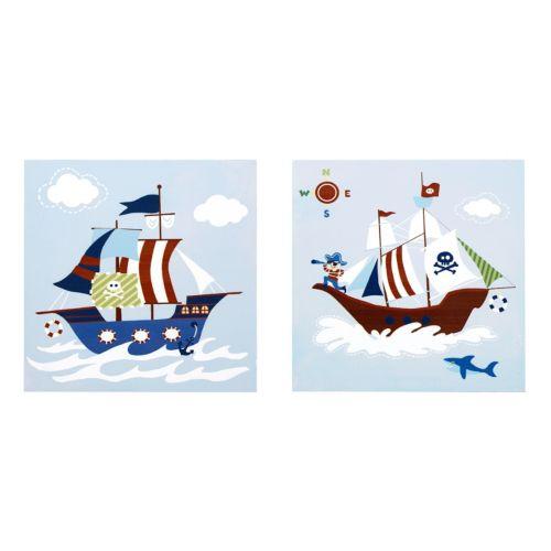 Mi Zone Kids Pirates Argh Wall Art 2-piece Set