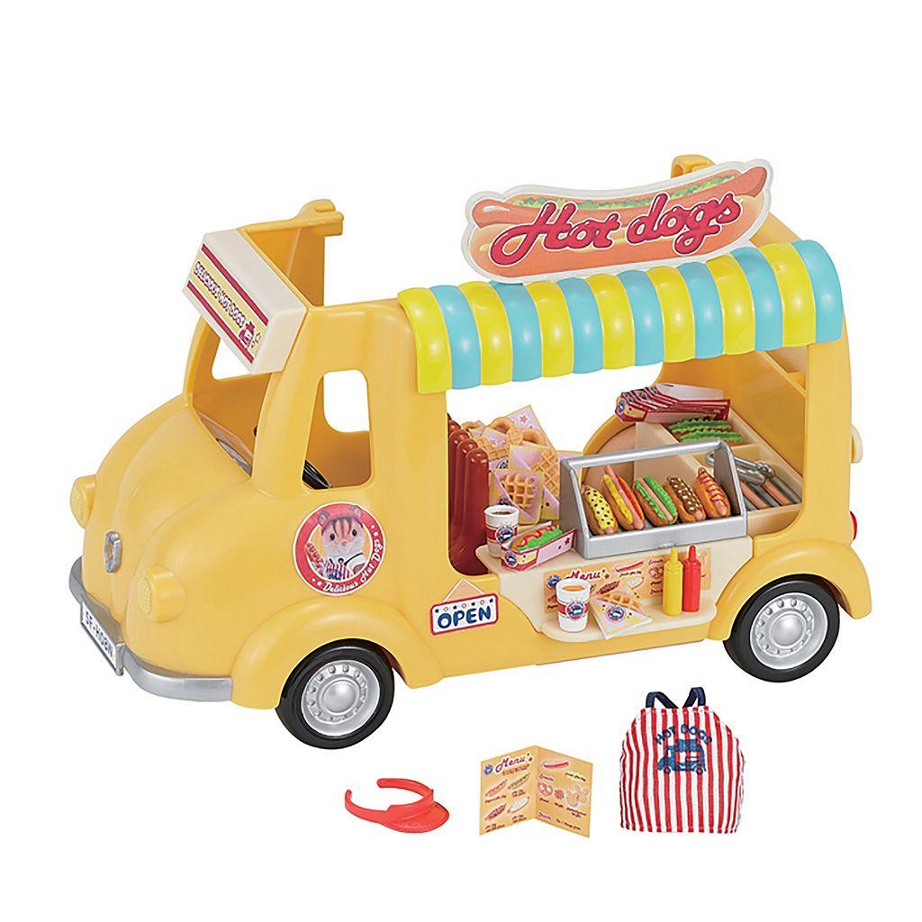 Calico Critters Hot Dog Van