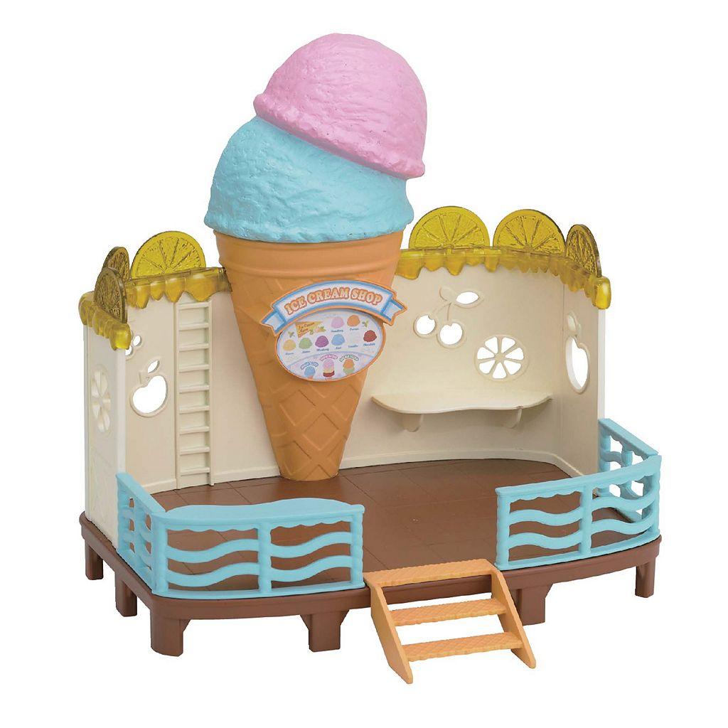 Calico Critters Seaside Ice Cream Shop