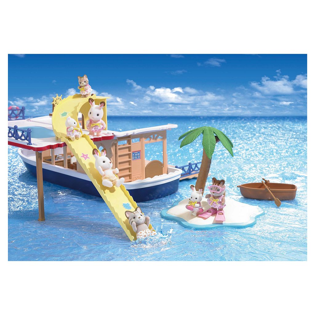 Calico Critters Seaside Cruiser Houseboat
