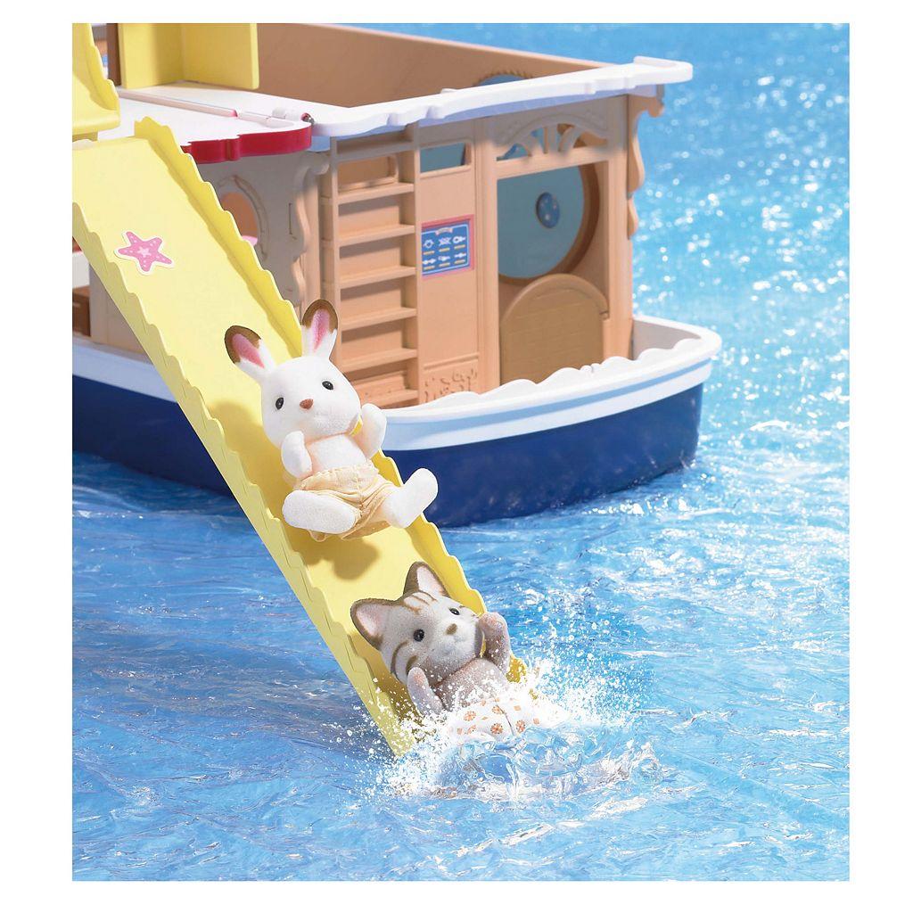 Calico Critters Seaside Cruiser Houseboat