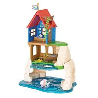 Calico Critters Secret Island Playhouse