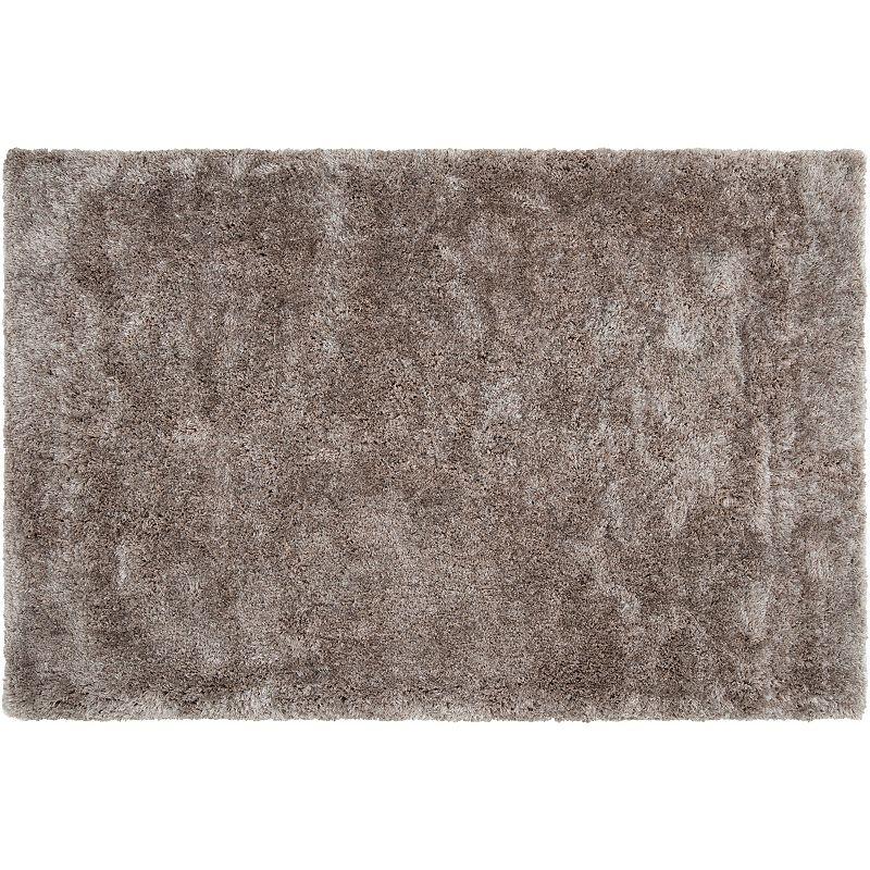 Decor 140 Villa Solid Shag Rug, Grey, 8X10 Ft