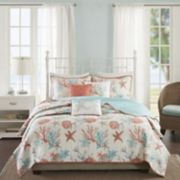 Madison Park Pacific Grove 6-piece Quilted Coverlet Set
