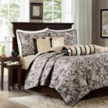 Madison Park Wellington 6 pc Quilted Coverlet Set