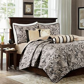 Madison Park Wellington 6-piece Quilted Coverlet Set