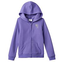 Girls 4-7 Jumping Beans® Fleece-Lined Full-Zip Hoodie