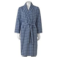 Big & Tall Hanes Lightweight Woven Shawl Robe