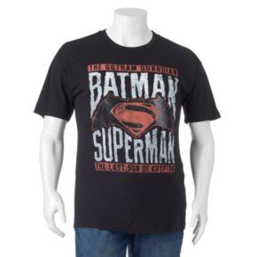 Big & Tall DC Comics Batman vs. Superman Tee