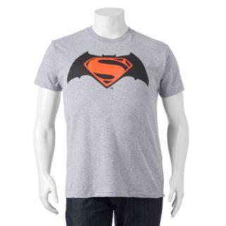 Big & Tall Batman v Superman: Dawn of Justice Shield Tee